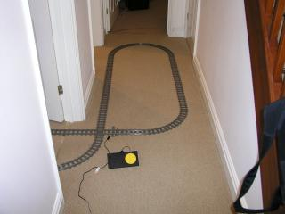 The first track layout