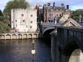 A bridge in York